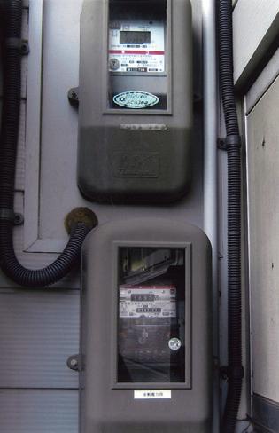 買電メーターと売電メーター