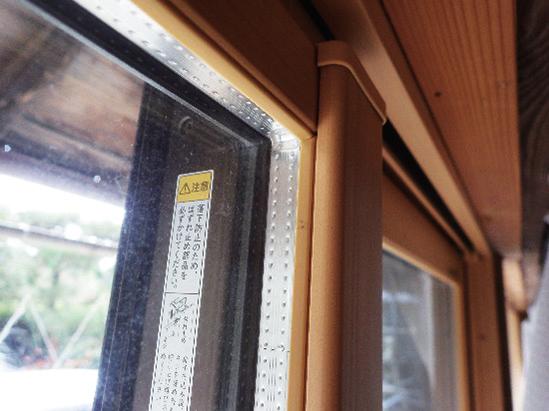 窓には樹脂サッシ&ペアガラス