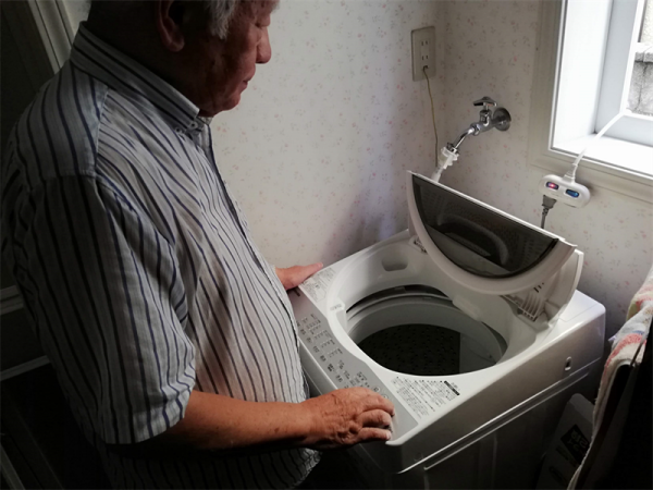 洗濯機の使用