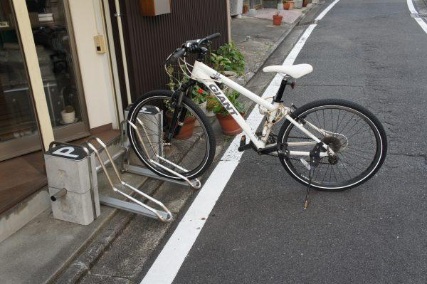 移動可能な可搬式の自転車ラック